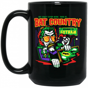 Welcome To Gotham This Is Bat Country Batman Mug Coffee Mugs