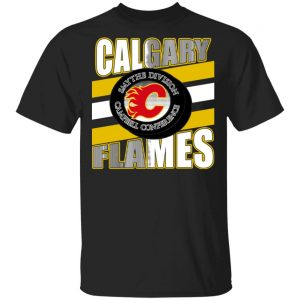 Calgary Flames Smythe Division Campbell Conference Shirt, Hoodie, Tank Apparel