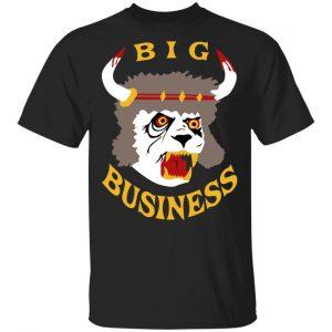 Big Business Official Merch Horns Shirt, Hoodie, Tank Apparel