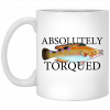Alien Made With 100% Demon Semen And Alien DNA Mug Coffee Mugs