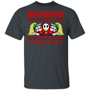 Shyguys Burgers And Fries Shirt, Hoodie, Tank Apparel