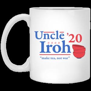 Uncle Iroh 2020 Make Tea Not War Mug Coffee Mugs