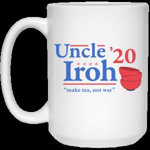 Uncle Iroh 2020 Make Tea Not War Mug Coffee Mugs 2