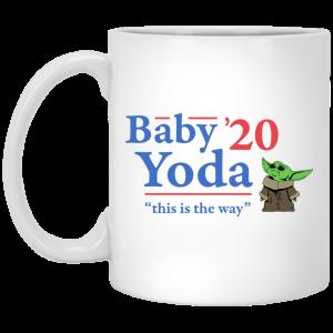 Baby Yoda 2020 This Is The Way Mug Coffee Mugs