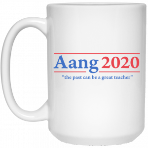 Avatar The Last Airbender Aang 2020 The Past Can Be A Great Teacher Mug Coffee Mugs 2
