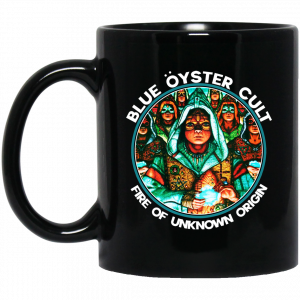 Blue Öyster Cult Fire Of Unknown Origin Mug Coffee Mugs