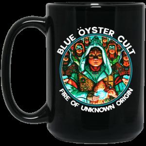 Blue Öyster Cult Fire Of Unknown Origin Mug Coffee Mugs 2