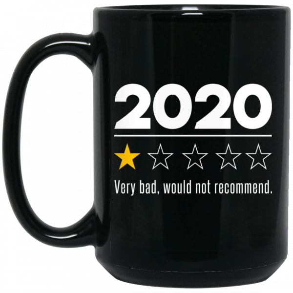 2020 This Year Very Bad Would Not Recommend Mug Coffee Mugs 4