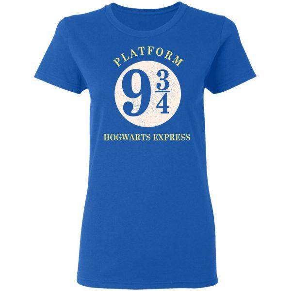 Platform 9 3/4 Hogwarts Express Harry Potter Shirt, Hoodie, Tank Apparel