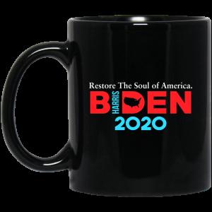 Biden Harris 2020 Restore The Soul Of America Mug Coffee Mugs