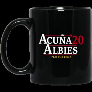 Acuna Albies 2020 Play For The A Mug Coffee Mugs