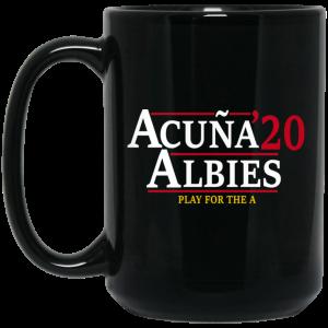 Acuna Albies 2020 Play For The A Mug Coffee Mugs 2