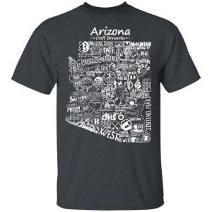 Arizona Craft Breweries Shirt, Hoodie, Tank Apparel