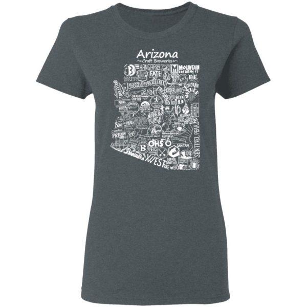 Arizona Craft Breweries Shirt, Hoodie, Tank Apparel