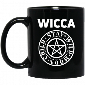 Wicca Child Stay Wild Moon Mug Coffee Mugs