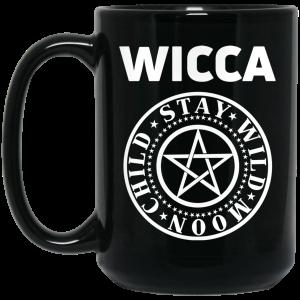 Wicca Child Stay Wild Moon Mug Coffee Mugs 2
