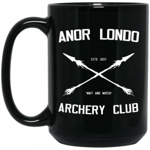 Anor Londo Archery Club Est 2011 Mug Coffee Mugs