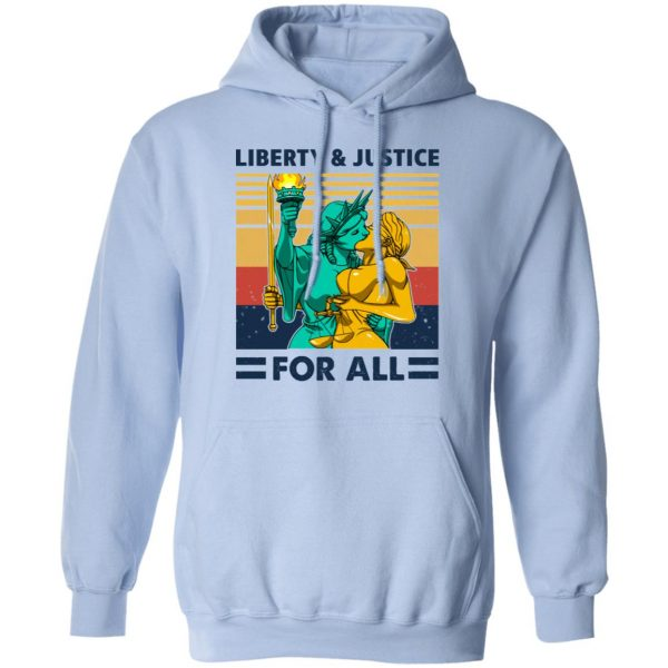 Liberty & Justice For All Vintage Shirt, Hoodie, Tank Apparel