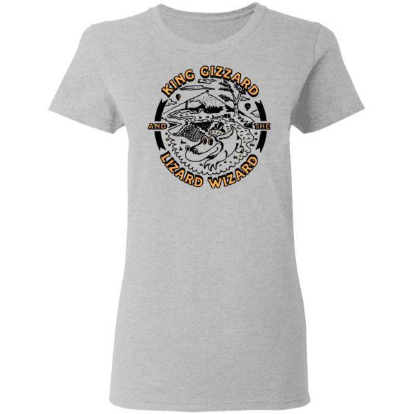 King Gizzard And The Lizard Wizard Gators Vintage Shirt, Hoodie, Tank Apparel