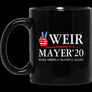 Weir Mayer 2020 Make America Grateful Again Mug Coffee Mugs