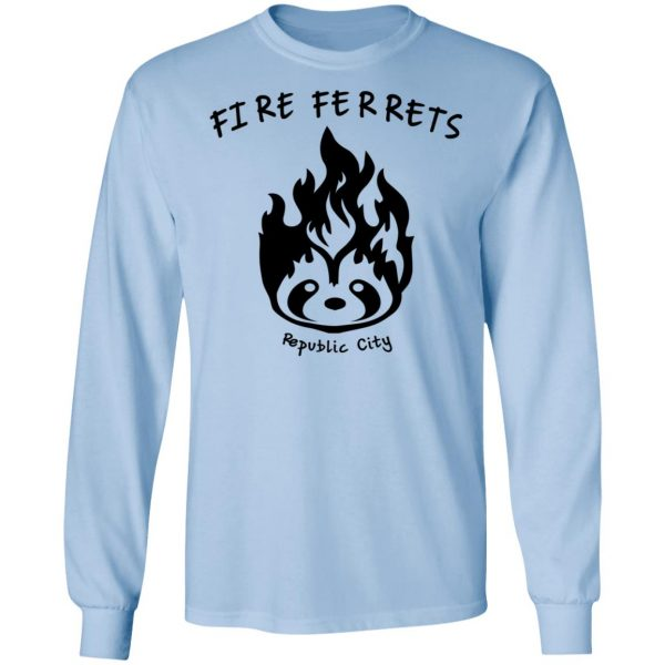 Fire Ferrets Republic City Shirt, Hoodie, Tank Apparel