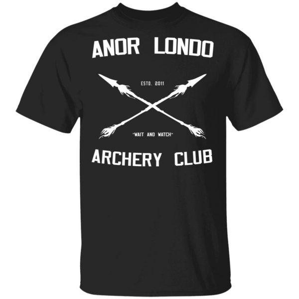 Anor Londo Archery Club 2011 Shirt, Hoodie, Tank Apparel 3
