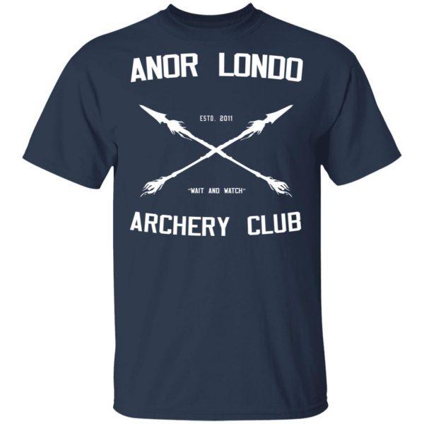 Anor Londo Archery Club 2011 Shirt, Hoodie, Tank Apparel 5