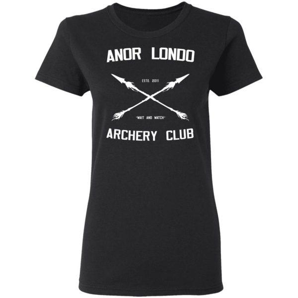Anor Londo Archery Club 2011 Shirt, Hoodie, Tank Apparel 7