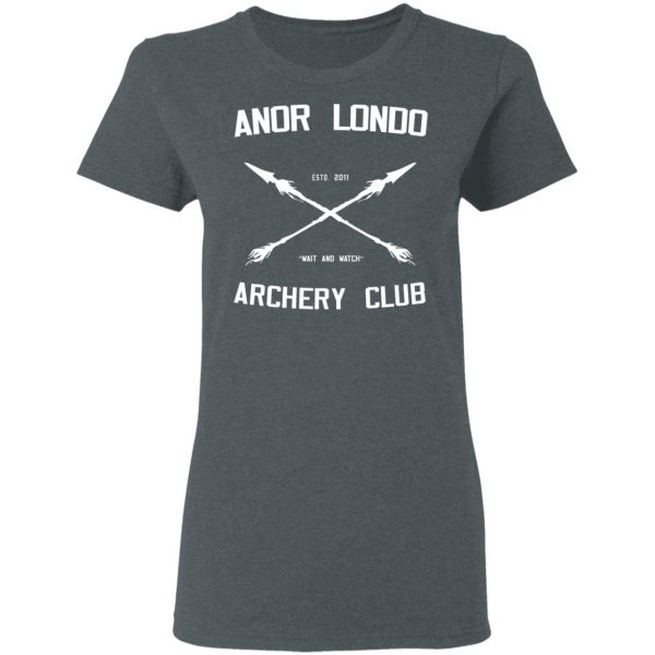 Anor Londo Archery Club 2011 Shirt, Hoodie, Tank Apparel 8