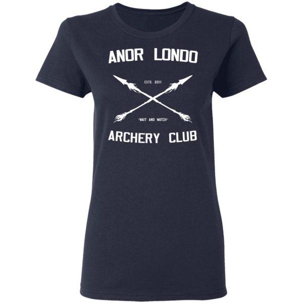 Anor Londo Archery Club 2011 Shirt, Hoodie, Tank Apparel 9
