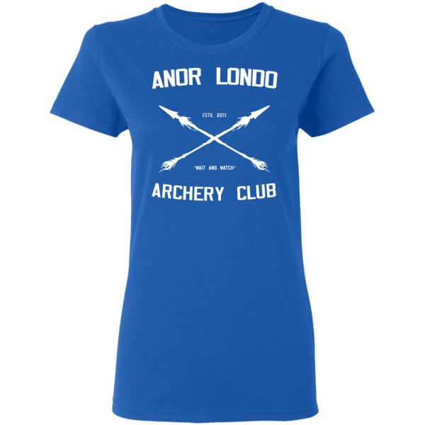 Anor Londo Archery Club 2011 Shirt, Hoodie, Tank Apparel