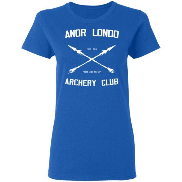 Anor Londo Archery Club 2011 Shirt, Hoodie, Tank Apparel 10