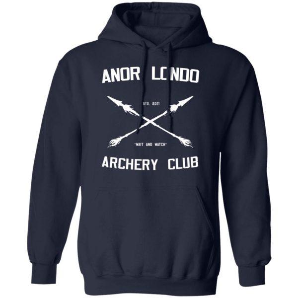 Anor Londo Archery Club 2011 Shirt, Hoodie, Tank Apparel 12