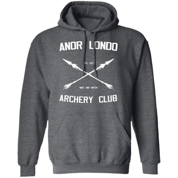 Anor Londo Archery Club 2011 Shirt, Hoodie, Tank Apparel 13