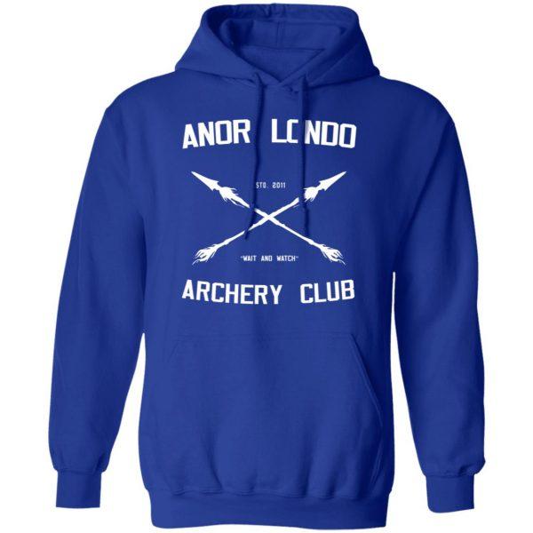 Anor Londo Archery Club 2011 Shirt, Hoodie, Tank Apparel 14