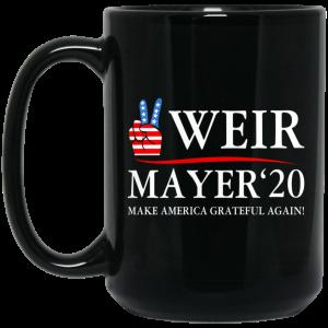 Weir Mayer 2020 Make America Grateful Again Mug Coffee Mugs 2
