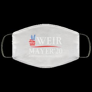 Weir Mayer 2020 Make America Grateful Again Face Mask Face Mask