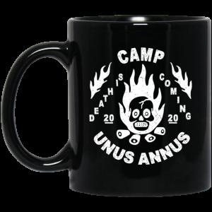 Camp Unus Annus 2020 Death Is Coming Mug Coffee Mugs