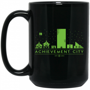 Achievement Hunter Achievement City Est 2012 Mug Coffee Mugs