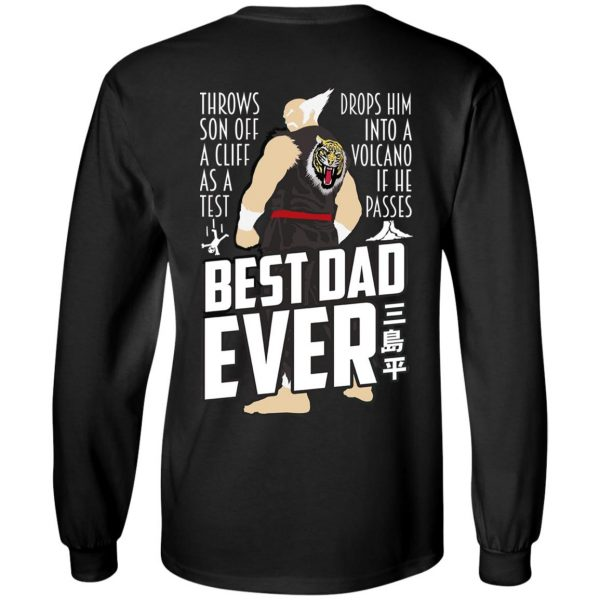 Throws Son Off A Cliff As A Test Drops Him Into A Volcano If He Passes Best Dad Ever Shirt, Hoodie, Tank Apparel 7
