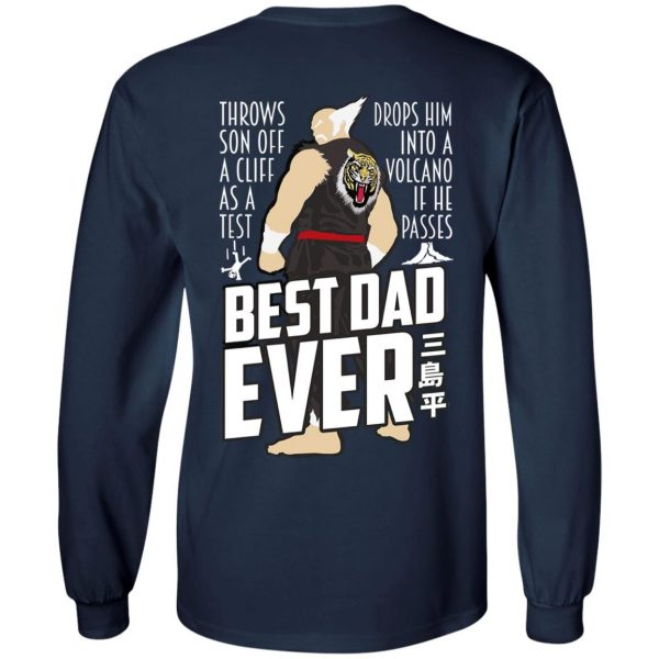 Throws Son Off A Cliff As A Test Drops Him Into A Volcano If He Passes Best Dad Ever Shirt, Hoodie, Tank Apparel