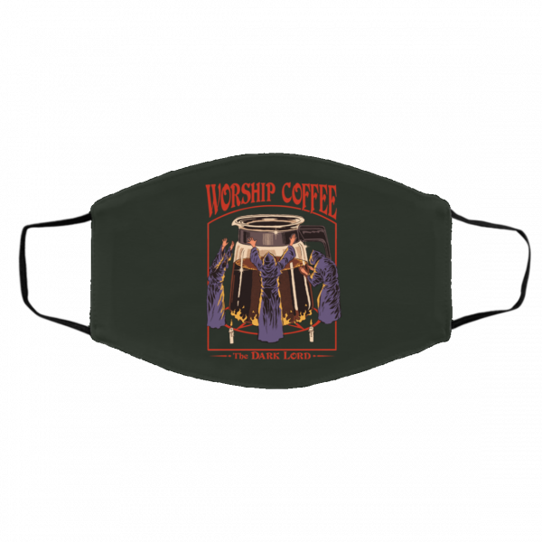 Worship Coffee The Dark Lord Face Mask Face Mask
