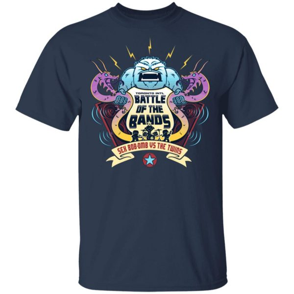 Battle Of The Bands Sex Bob-omb Vs The Twins Shirt, Hoodie, Tank Apparel