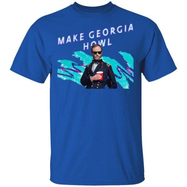 William Tecumseh Sherman Make Georgia Howl Shirt, Hoodie, Tank Apparel