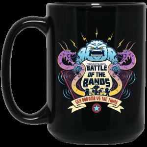 Battle Of The Bands Sex Bob-omb Vs The Twins Mug Coffee Mugs 2