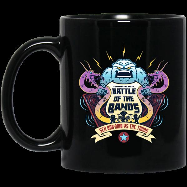Battle Of The Bands Sex Bob-omb Vs The Twins Mug Coffee Mugs 3