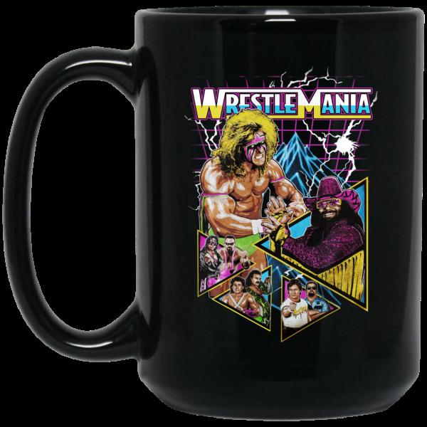 WWE WrestleMania Mug Coffee Mugs 4