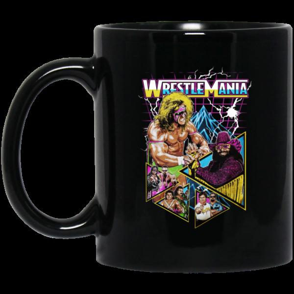 WWE WrestleMania Mug Coffee Mugs 3