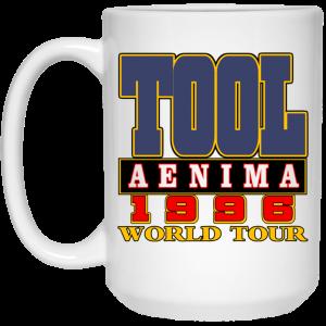 Tool Aenima 1996 World Tour Mug Coffee Mugs 2