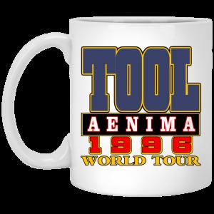 Tool Aenima 1996 World Tour Mug Coffee Mugs